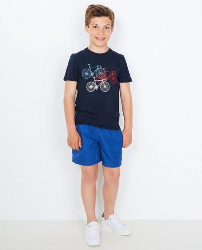 Nachtblauw T-shirt